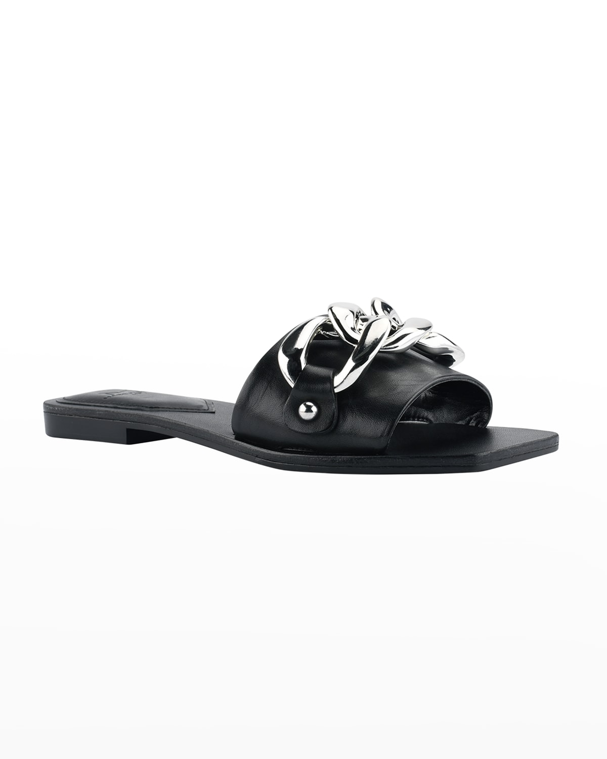 Rosely Chain Flat Slide Sandals