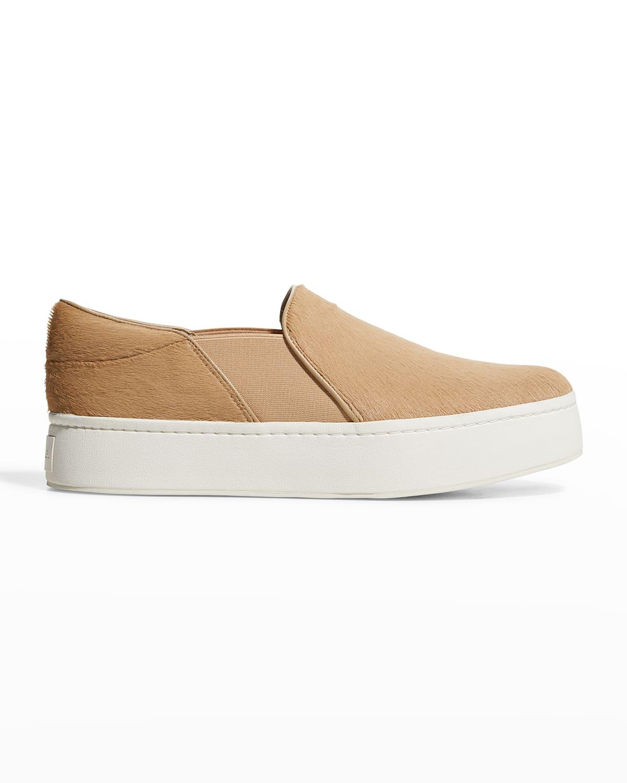 Warren Fur Slip-On Skater Sneakers