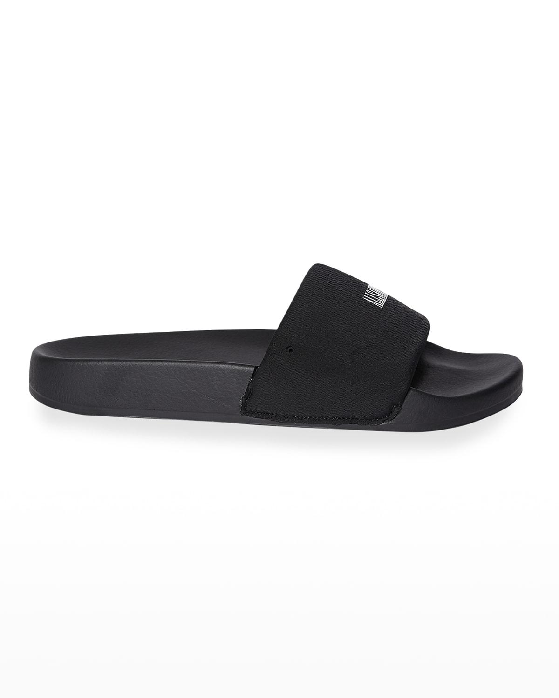 Carmel Contrast Slide Sandals