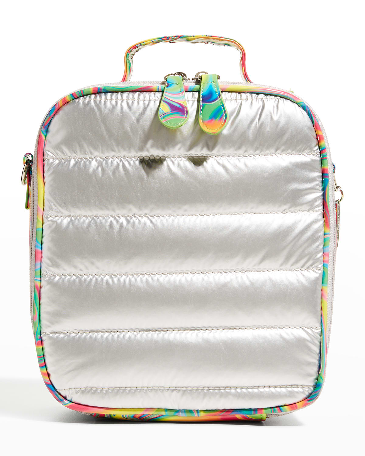 Kid's Tie-Dye Marble Quilted Lunchbox