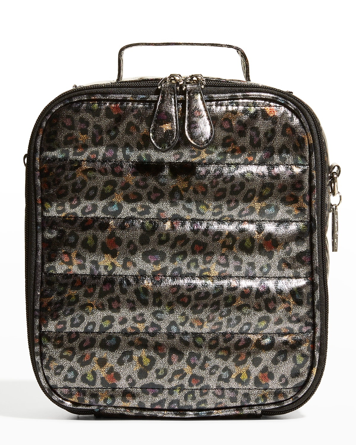Kid's Leopard Quilted Puff Lunchbox