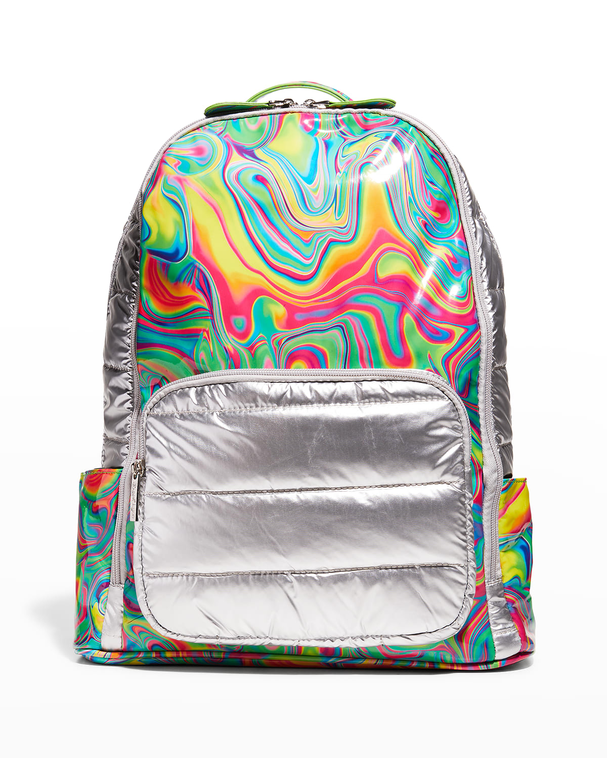 Kid's Tie-Dye Marbleized Quilted Backpack