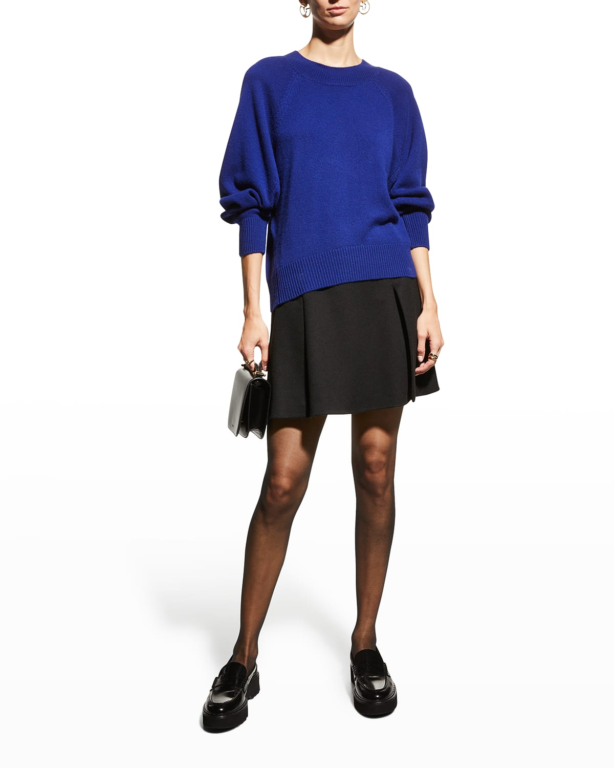 Relaxed Cashmere Crewneck Sweater