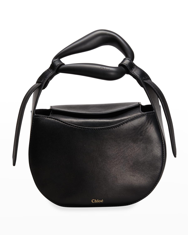 Kiss Tonal Calfskin Crossbody Bag