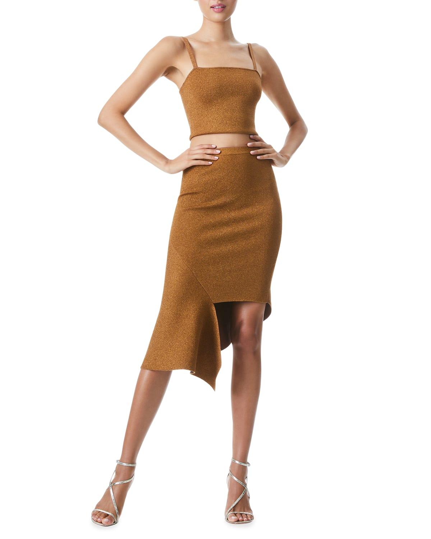 Maria Metallic Skirt