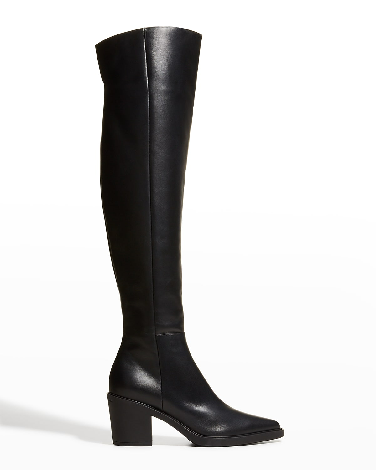 Dylan Cuissard Vitello Glove Over-the-Knee Boots