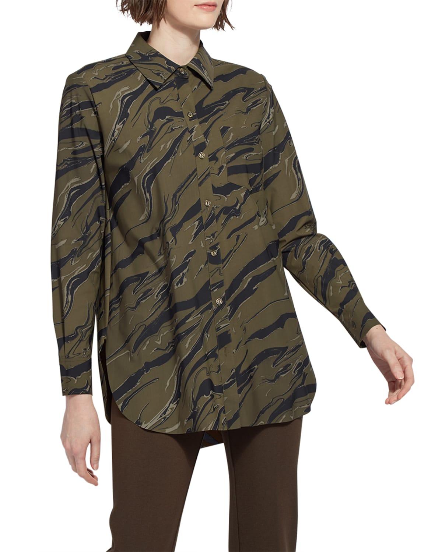 Schiffer Printed Button-Down Shirt