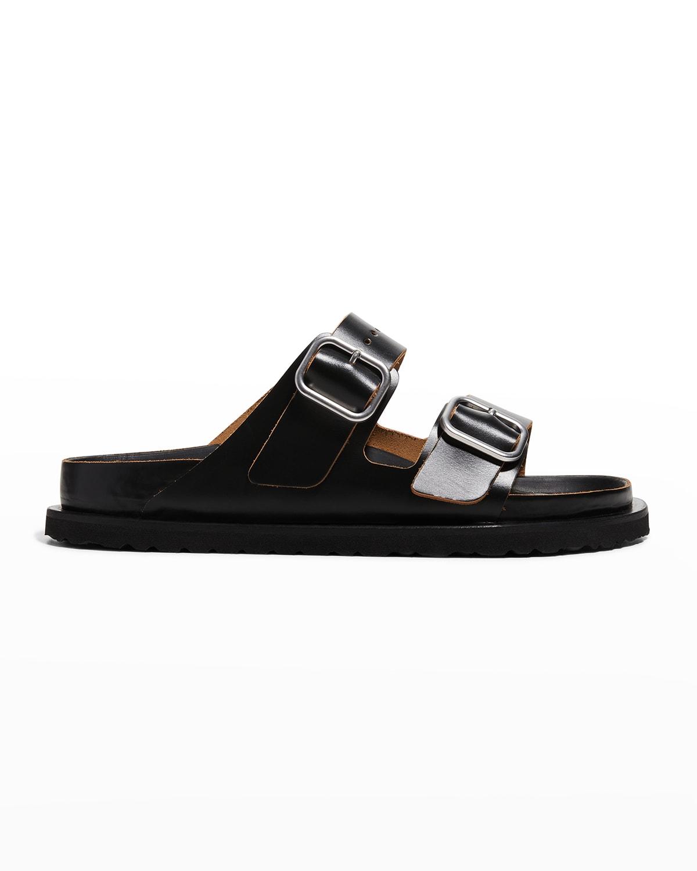 x Birkenstock Arizona Dual-Buckle Slide Sandals