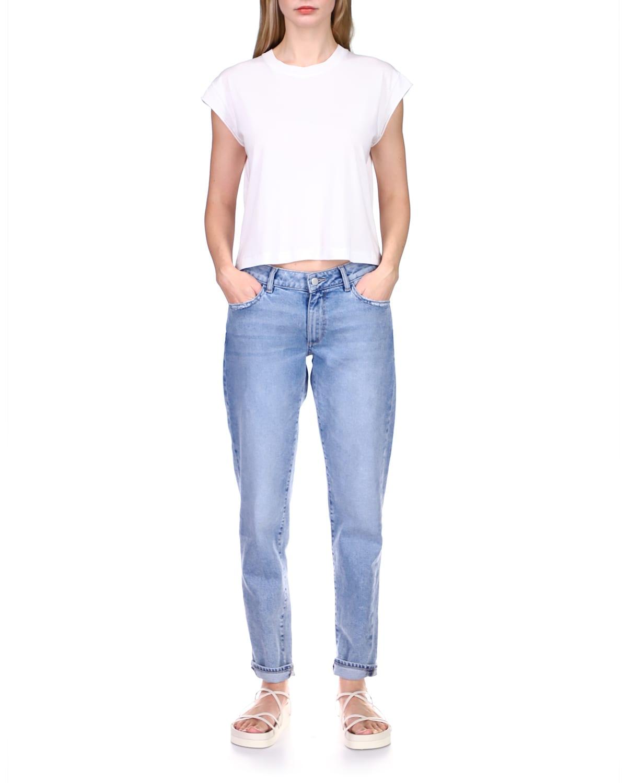 Riley Straight-Leg Boyfriend Jeans