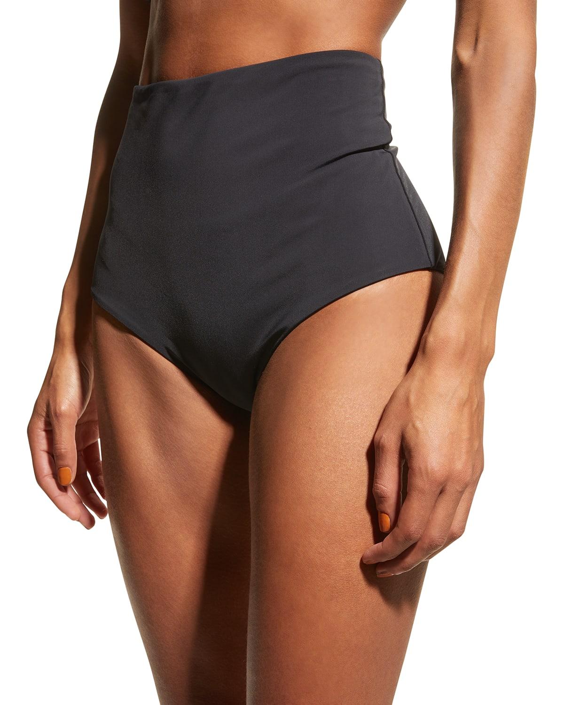 Lydia High-Waist Bikini Bottoms