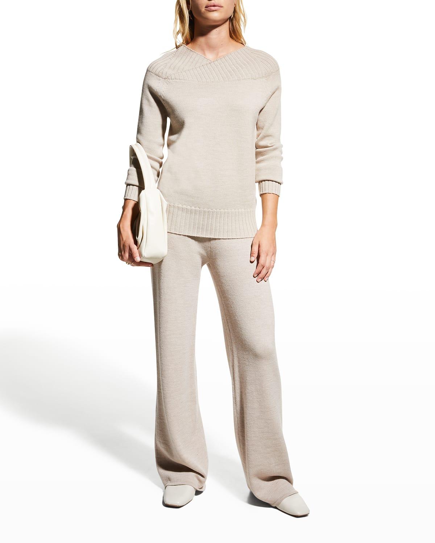 Lalla Wool Knit Pants