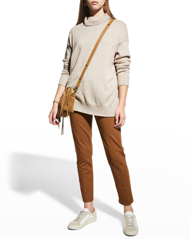 Agadir Wool Turtleneck Sweater
