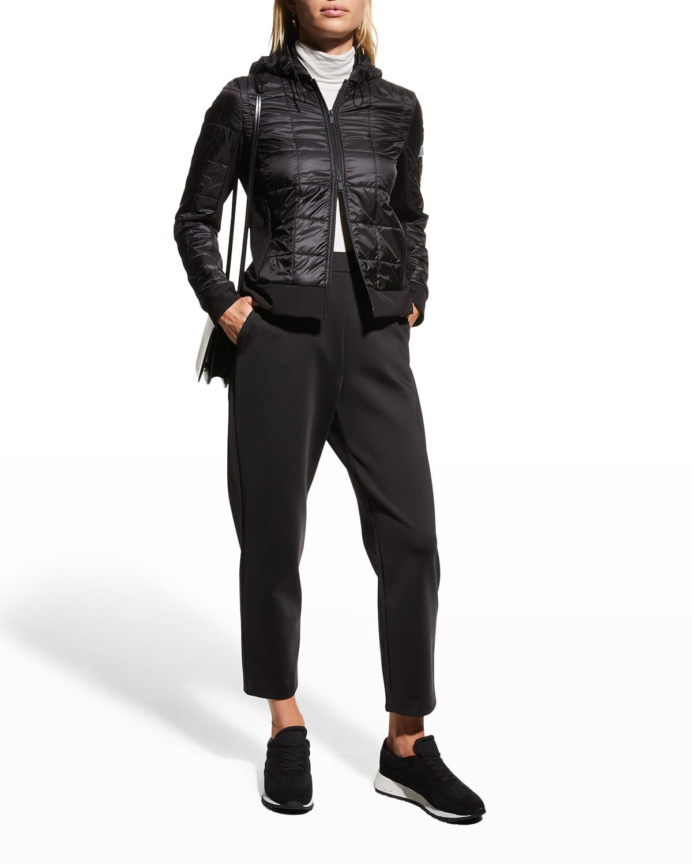 Sorbona Quilted Zip Jacket