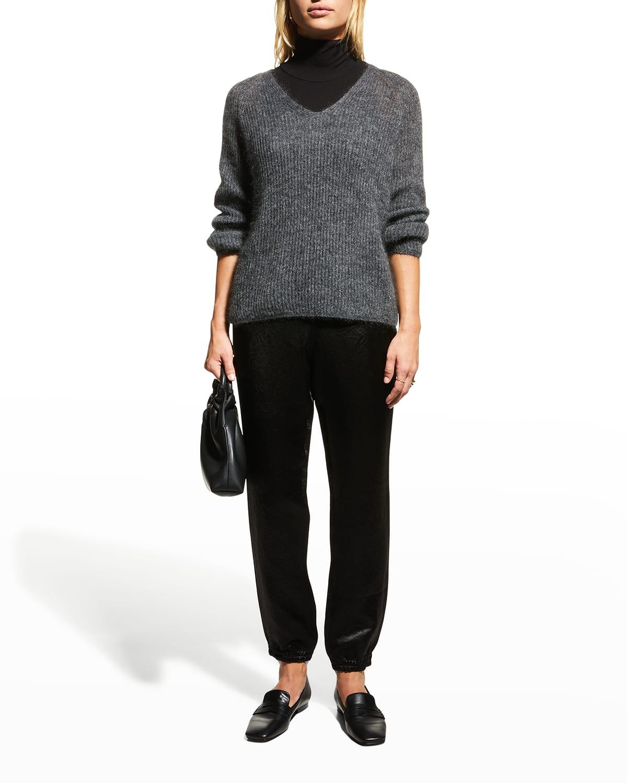 Gattoni Mohair-Blend Sweater
