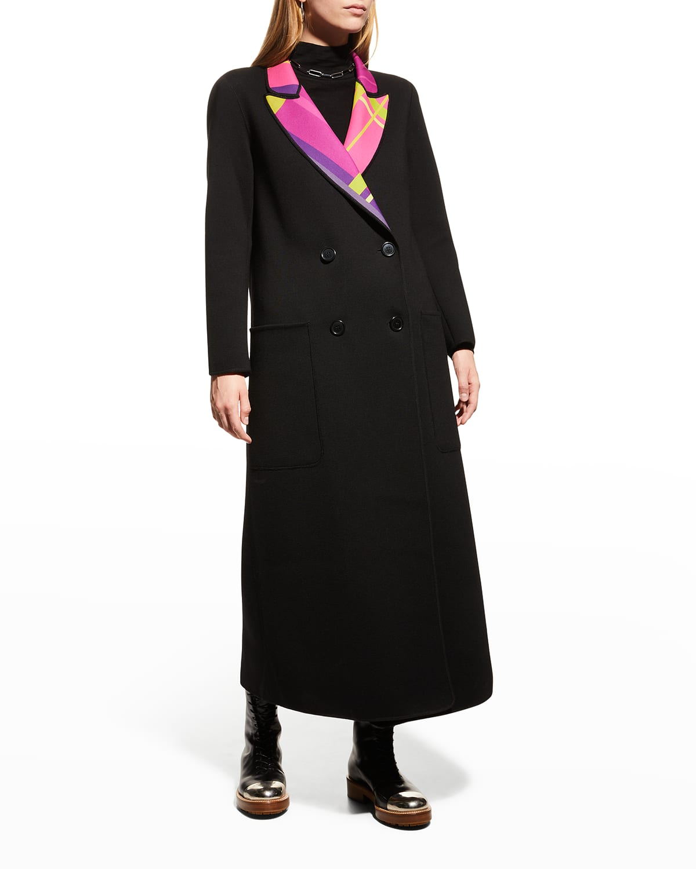 Reversible Double-Face Wool Coat