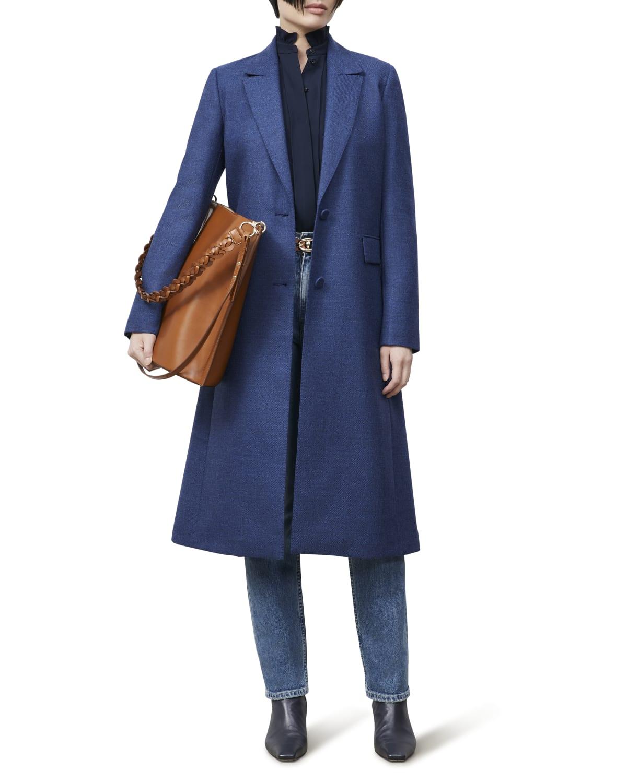 Emile Wool-Silk Coat