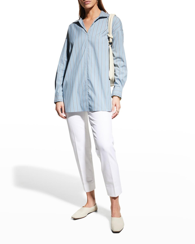 Bristol Striped Oversized Shirt
