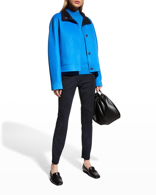 Simone Wool-Cashmere Reversible Jacket