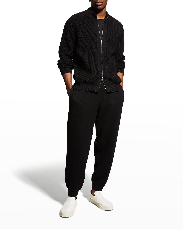Men's Double-Knit Jogging Pants