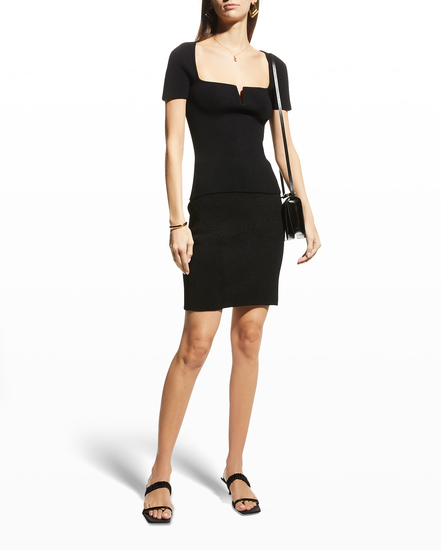 Nyx Ribbed Mini Skirt