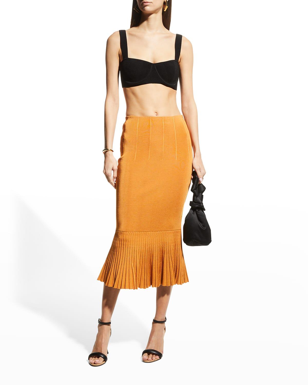 Atlanta Mermaid Midi Skirt