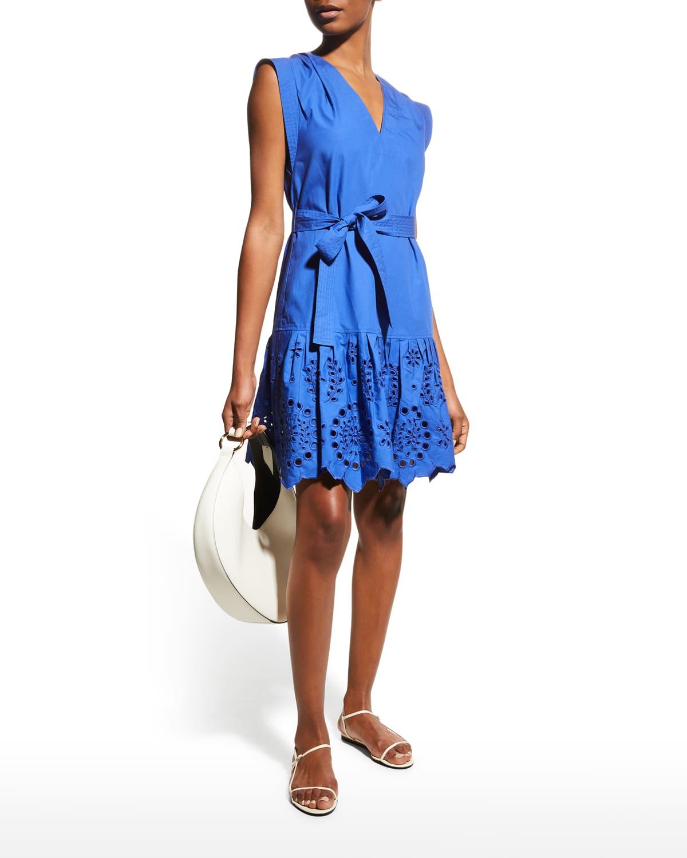 Lee Eyelet Dress