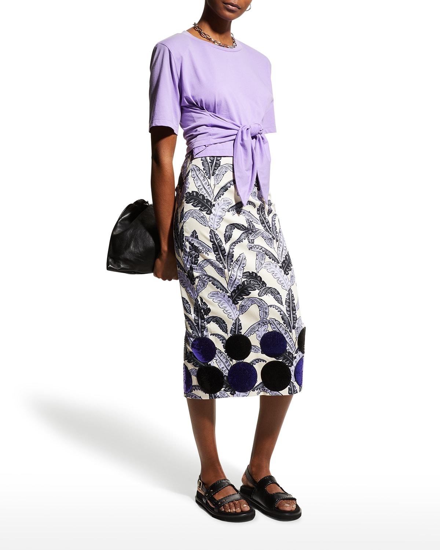 Aromatherapy Midi Skirt