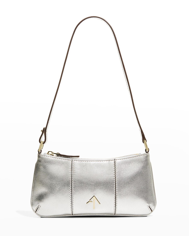 Pita Mini Metallic Shoulder Bag