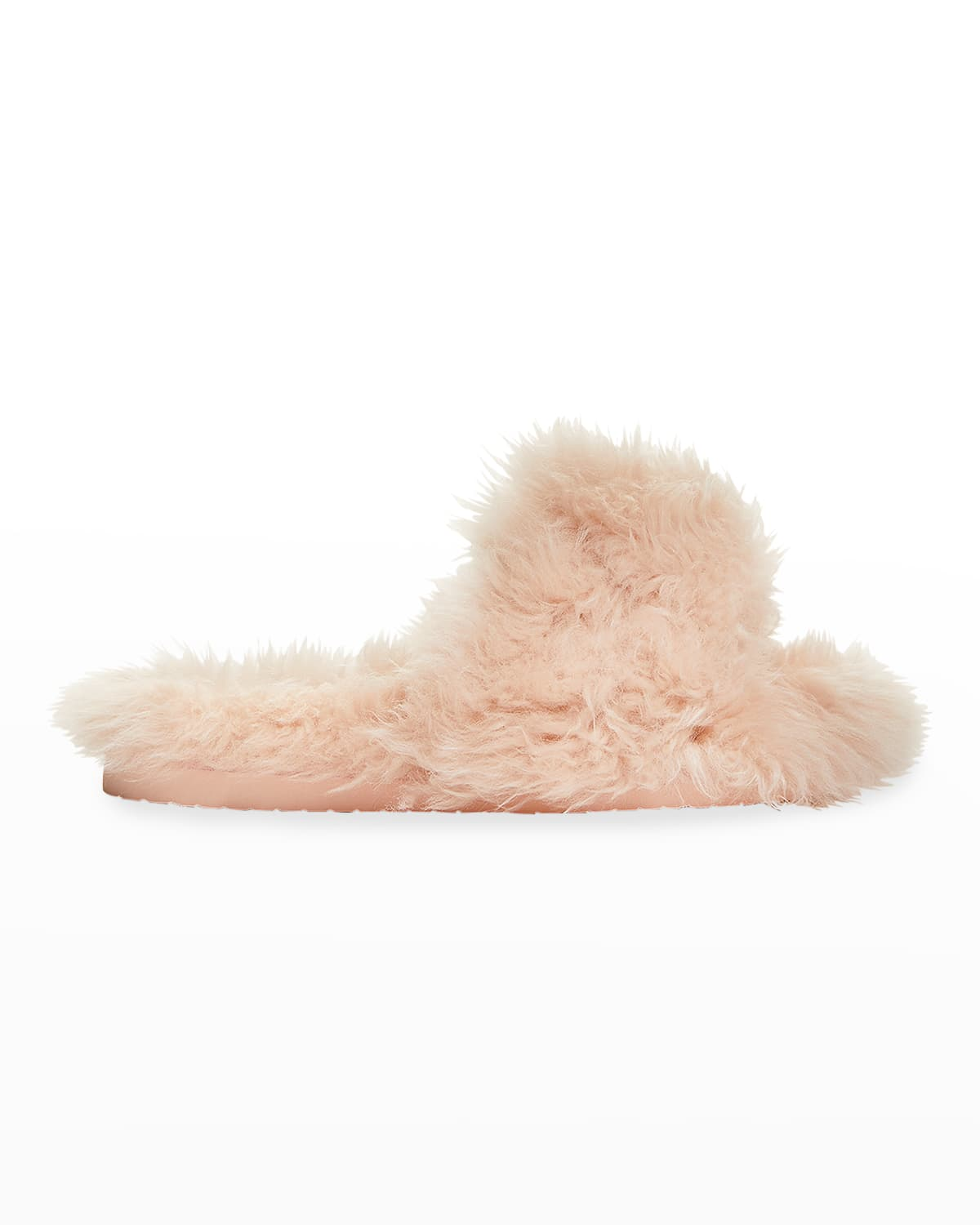 Cosy Shearling Slide Sandals
