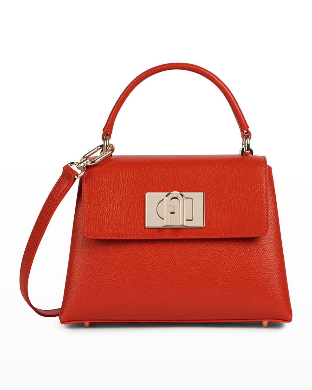 1927 Mini Arch Logo Top-Handle Bag
