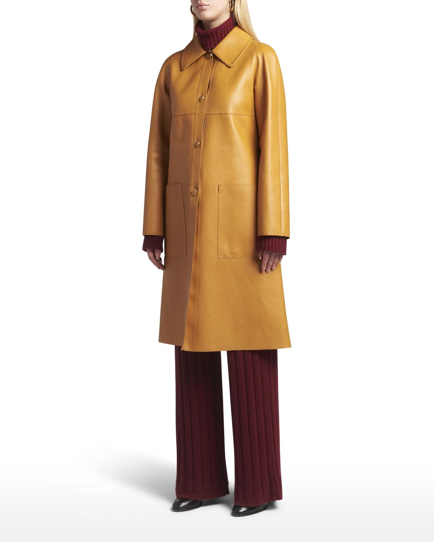 Capp Keith Leather Coat