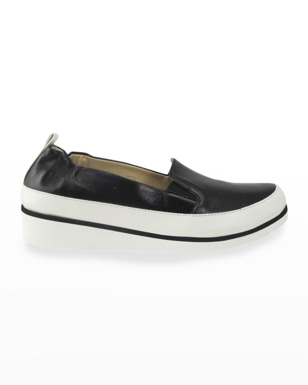 Nell Metallic Slip-On Sneakers
