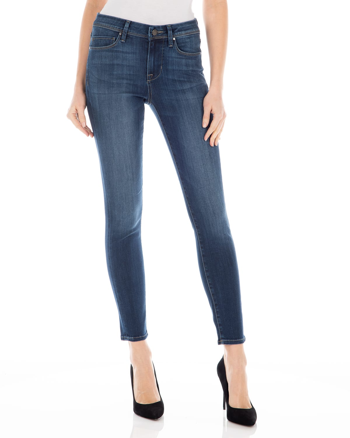 Sola Mid-Rise Skinny Jeans