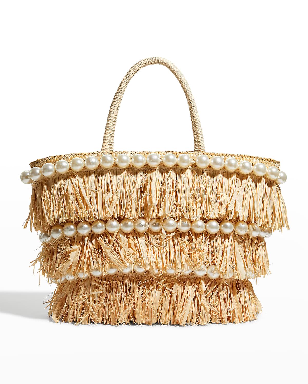 Oliva Pearly Stud Tote Bag