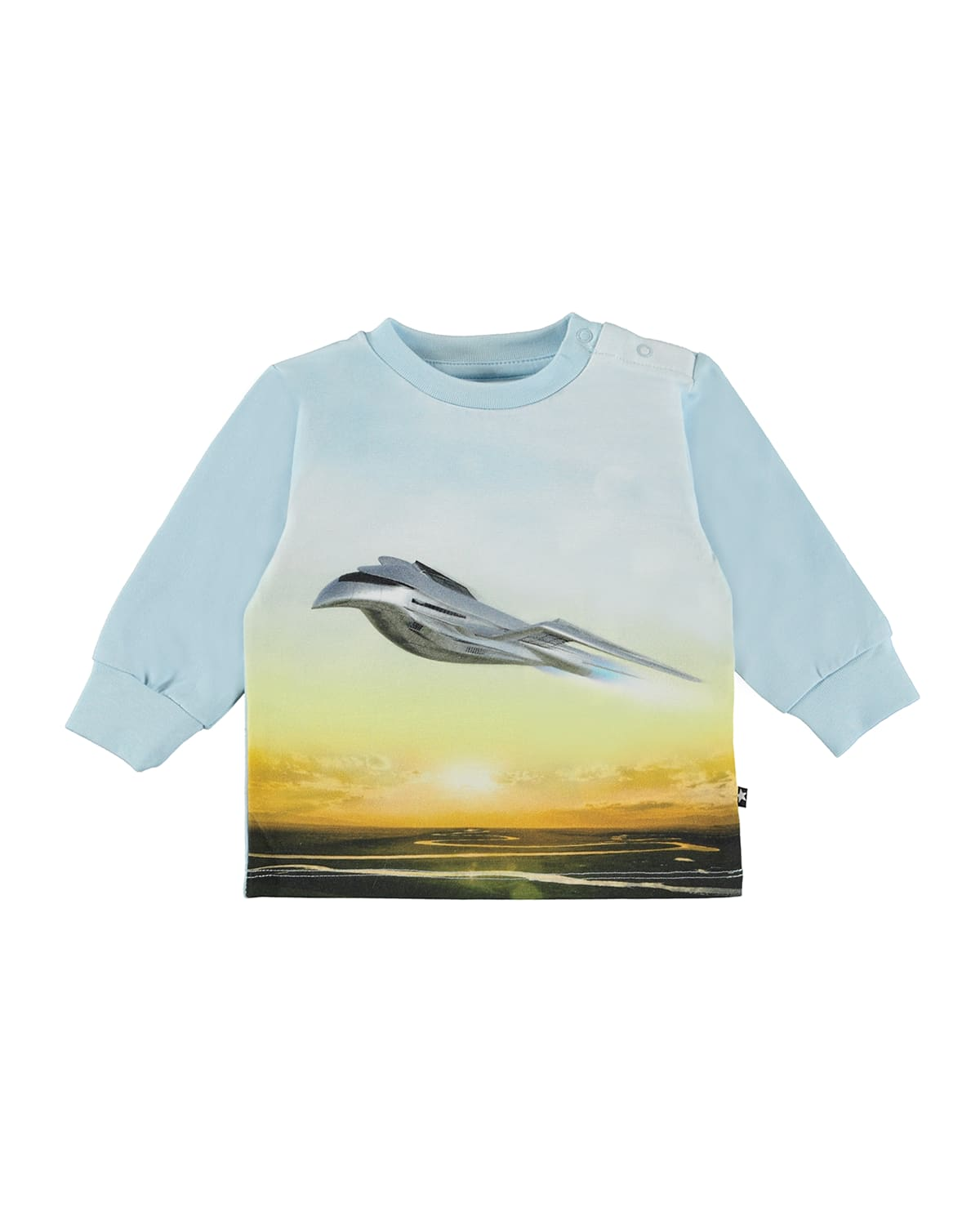 Boy's Eloy Airplane Graphic Long-Sleeve Sweater