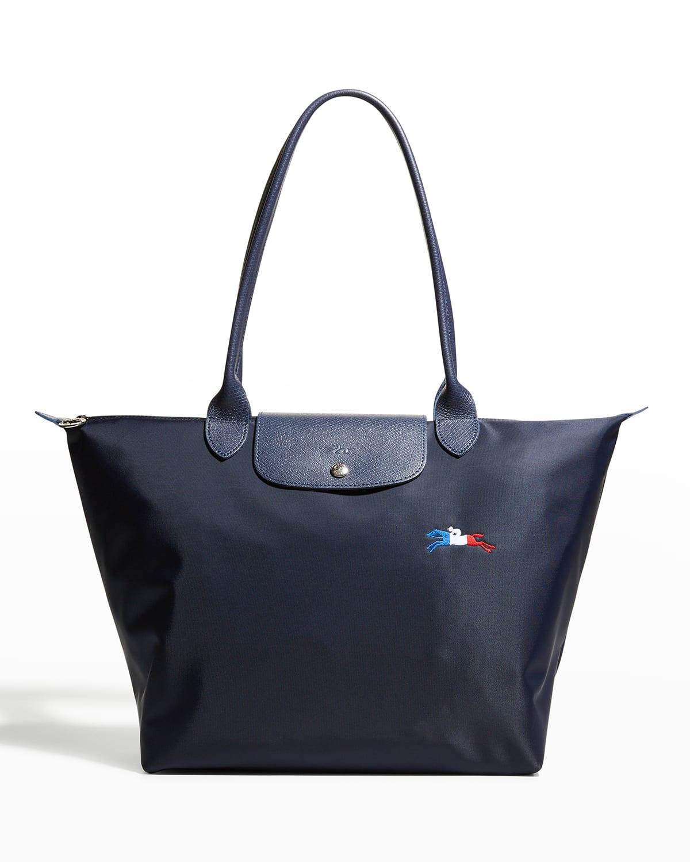 Le Pliage Tres Paris Large Shoulder Tote Bag