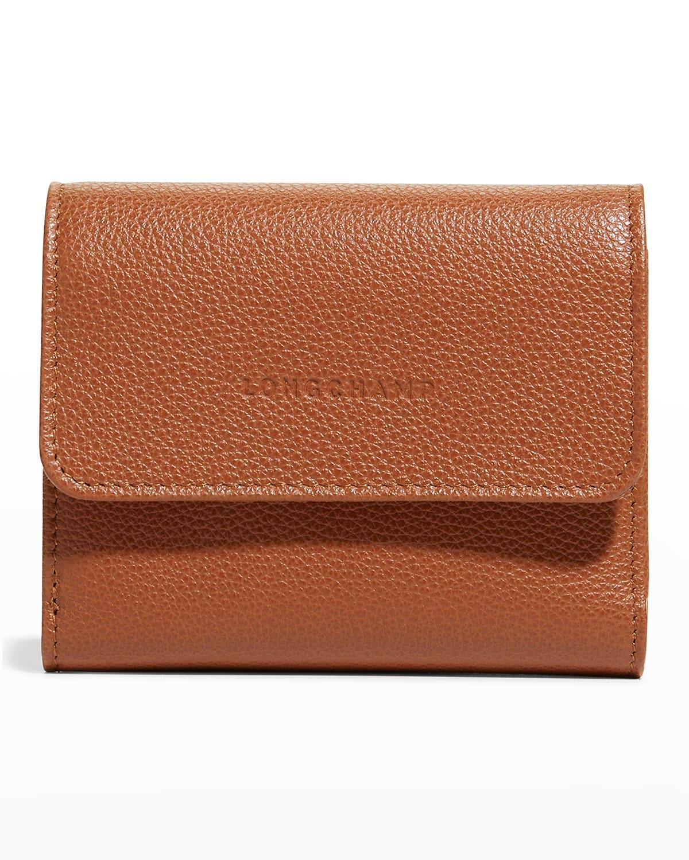 Le Foulonne Compact Leather Wallet