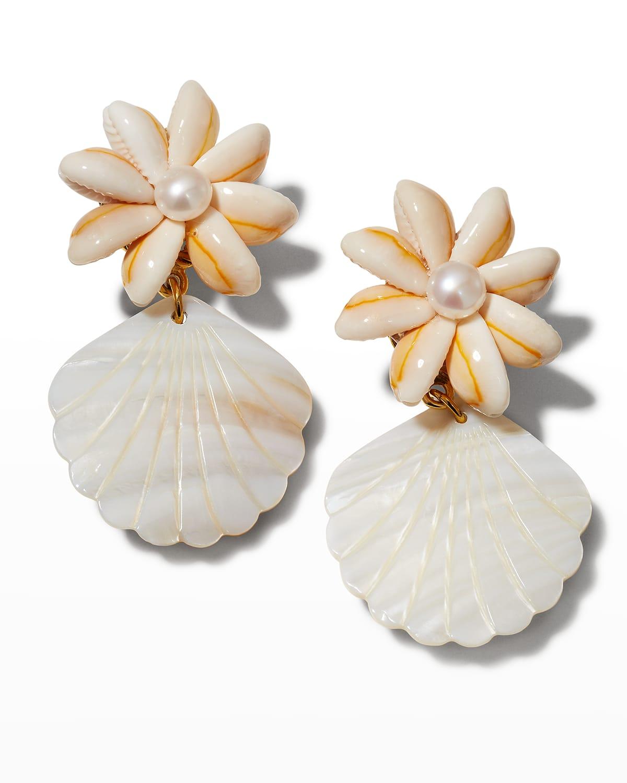 Royal Palm Earrings