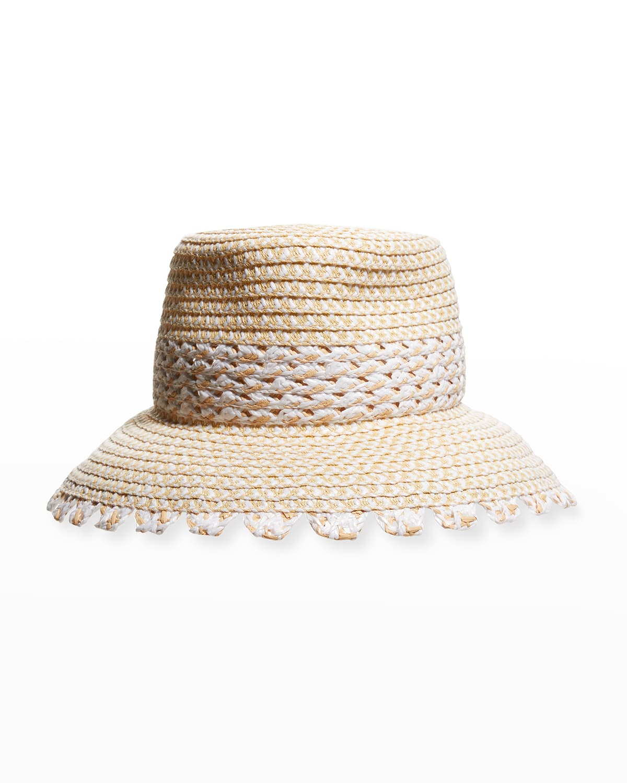 Mita Packable Braided Bucket Hat