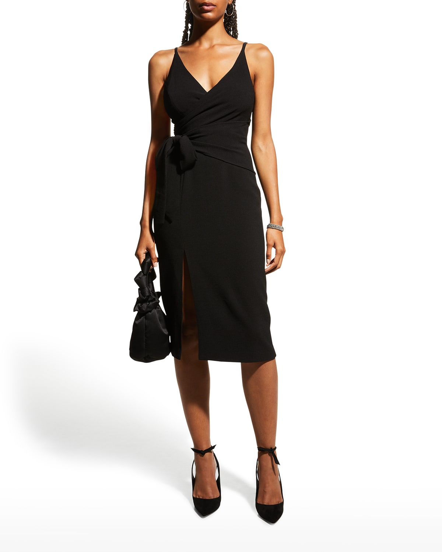 Kiara Side-Tie Sheath Dress