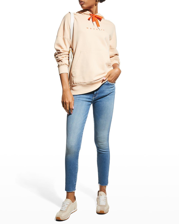 The High Waisted Vamp Fray Jeans