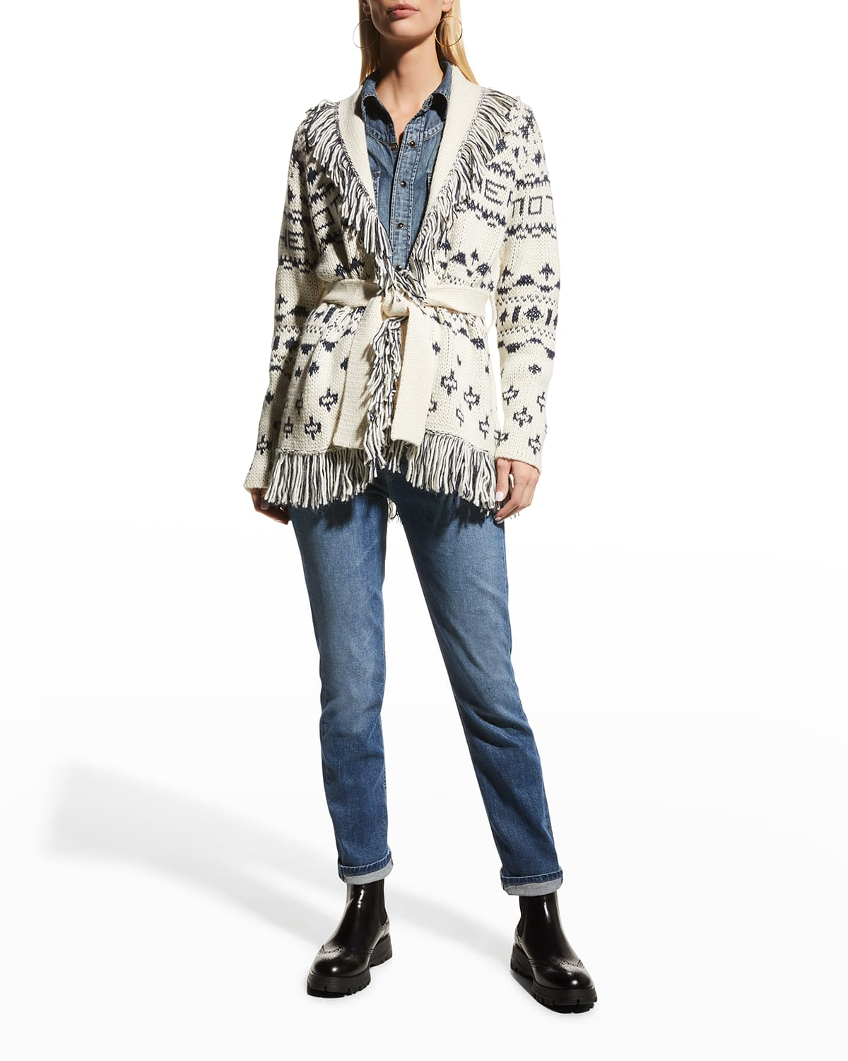 The Belted Short Cardigan