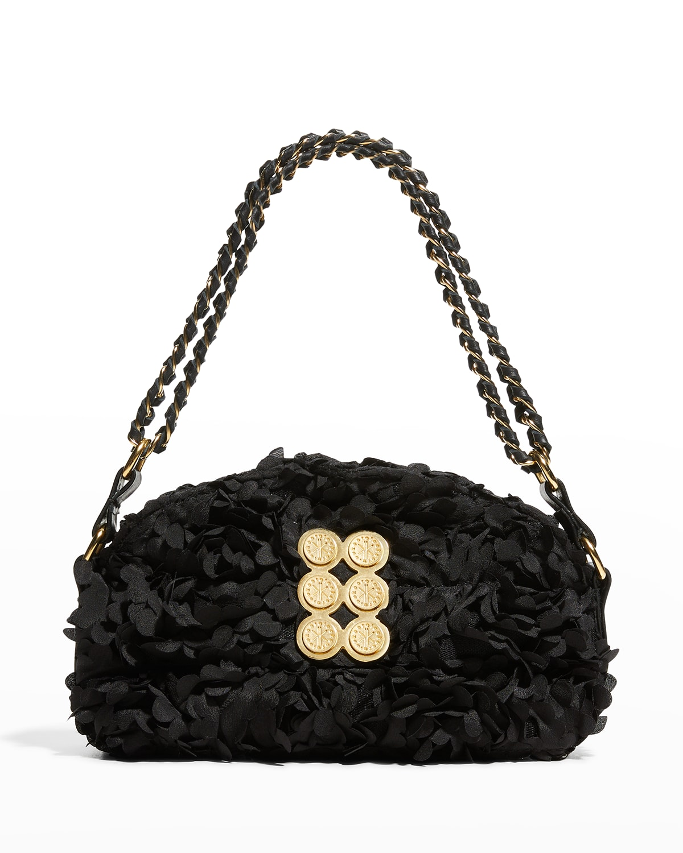 Bloom Mini Flower Pouch Chain Shoulder Bag