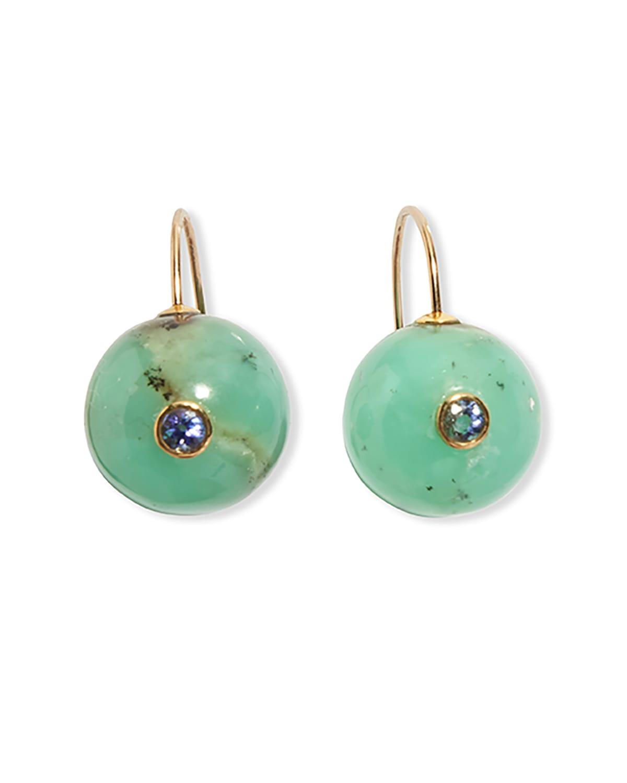 Comet Earrings in Mint