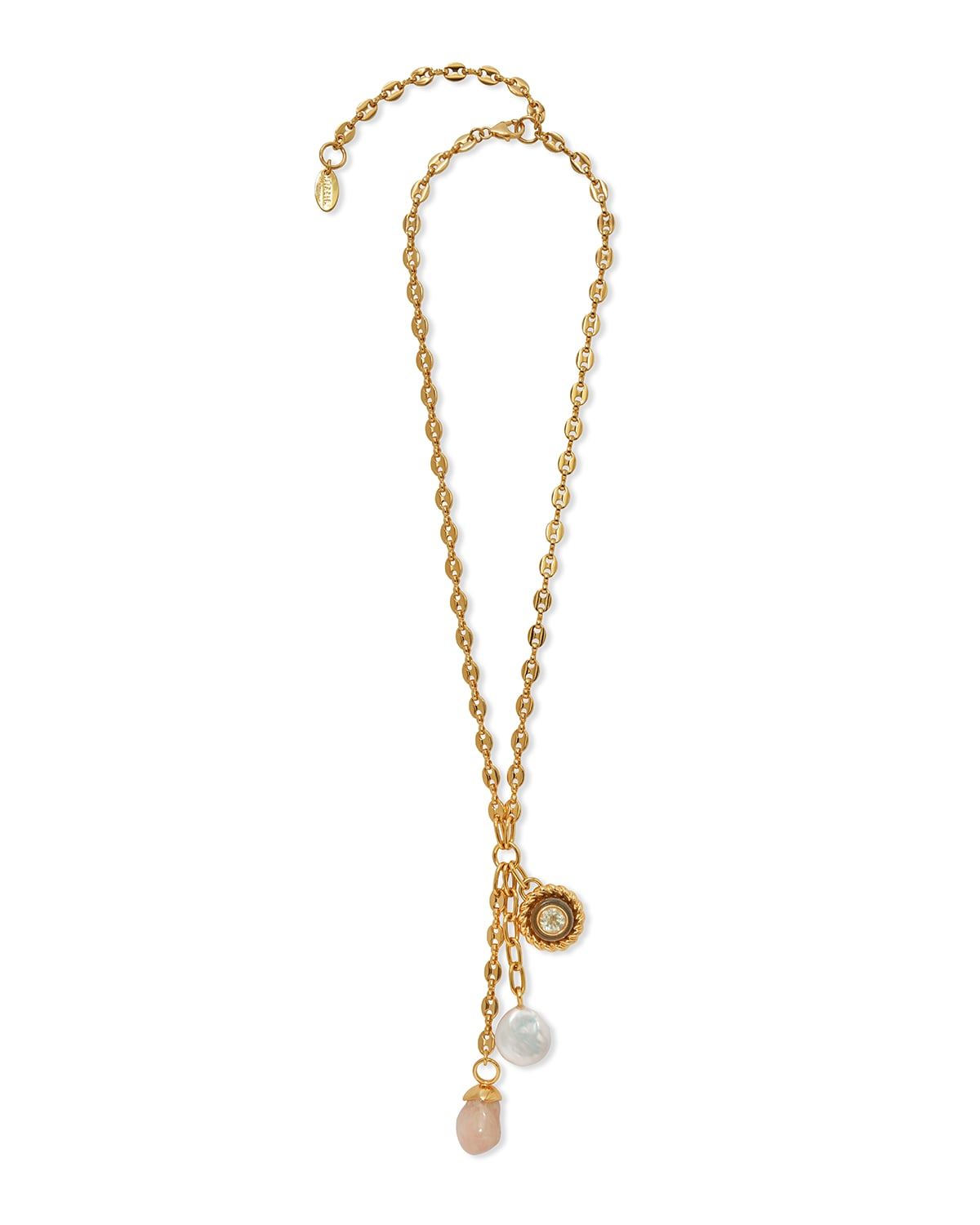 Anchor Lariat Necklace