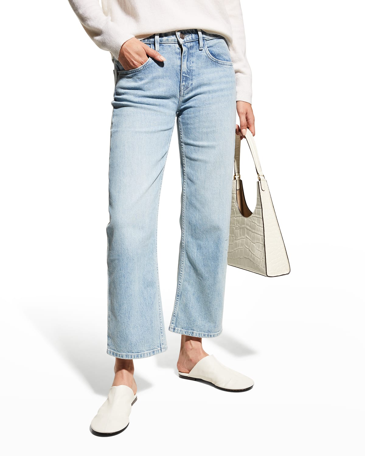 Bedford Mid-Rise Ankle Jeans