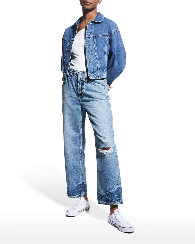 Knox High-Rise Baggy Boyfriend Jeans