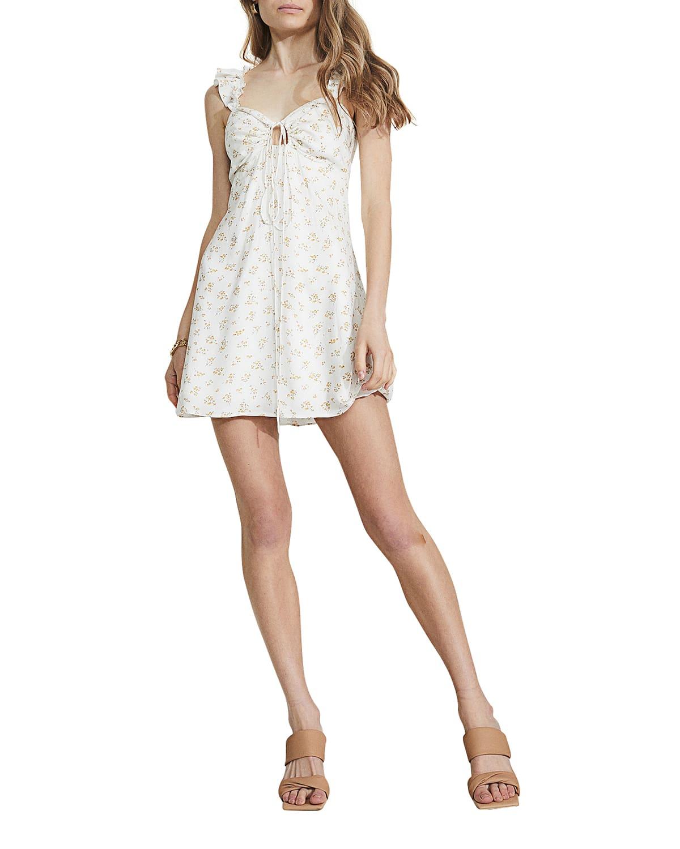 Cindy Floral Mini Dress