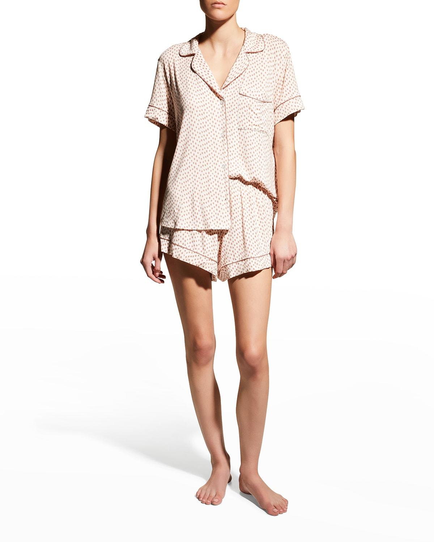 Gisele Printed Relaxed Short Pajama Set