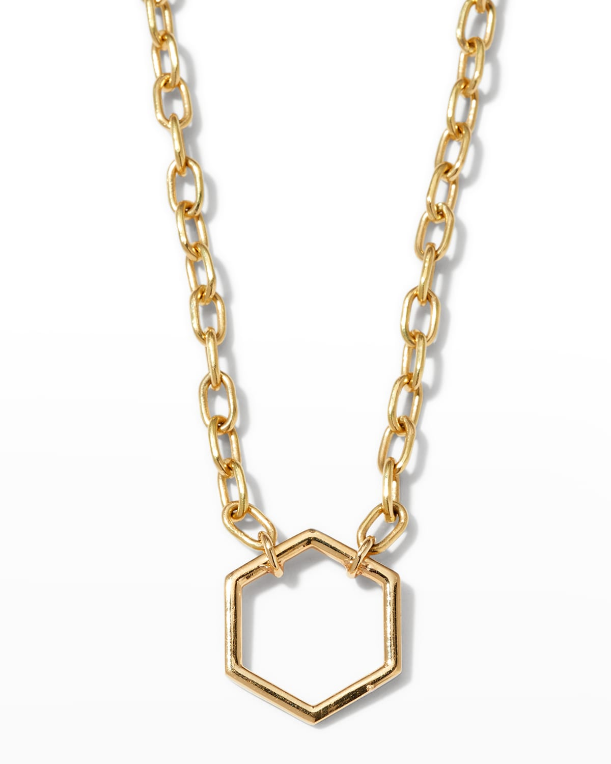 18k Yellow Gold Thin Foundation Necklace